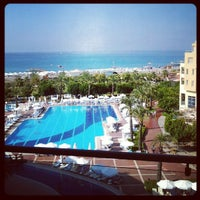 Photo taken at Silence Beach Resort by Alexey D. on 9/9/2012