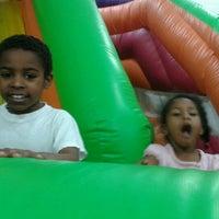 Photo taken at Joyful Jumps by Kimberly A. on 4/4/2012