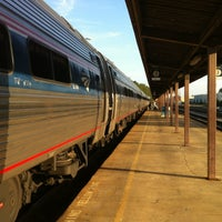 Photo taken at Richmond - Staples Mill Road Amtrak Station (RVR) by Joshua O. on 4/16/2012