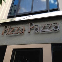 Photo taken at Pizza Pazza by Piriya K. on 7/15/2012