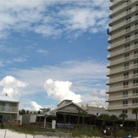 Photo taken at Schooners Beach by Stephanie S. on 8/24/2012