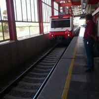 Photo taken at Tren Suburbano San Rafael by Alberto T. on 6/12/2012
