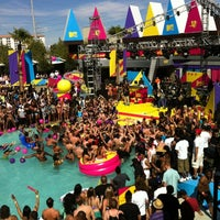 Photo taken at Palms Pool & Dayclub by Angie G. on 3/20/2012