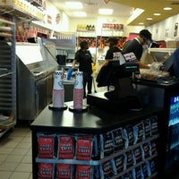 Photo taken at Jimmy John's by Courtney B. on 5/3/2012
