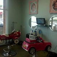 Photo taken at Spoiled Rockin' Kidz Salon by Justin N. on 8/28/2012
