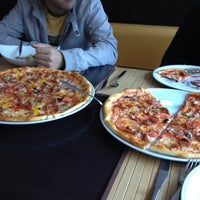 Photo taken at Pizza by Айгуль Л. on 9/7/2012