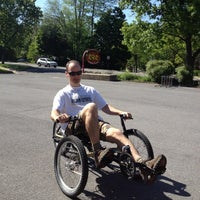 Photo taken at RBR - Recumbent Bike Riders by Margalo M. on 5/18/2012