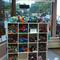 Photo taken at Over the Rainbow Yarn by Elizabeth P. on 8/14/2012