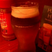 Photo taken at Red Robin Gourmet Burgers by Christina M. on 9/1/2012