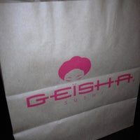 Photo taken at Geisha Sushi Bar by Matej C. on 4/29/2012