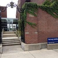 Photo taken at Marie Hartwig Building by Karan K. on 8/27/2012