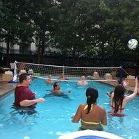 Photo taken at Aventura Pool by Edwin M. on 6/9/2012