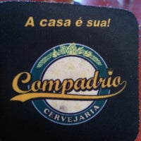 Photo taken at Cervejaria Compadrio by Vinicius S. on 8/18/2012