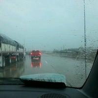 Photo taken at I-75 & Ambassador Bridge by Tina K. on 3/30/2012