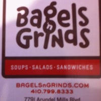 Photo taken at Bagels 'n Grinds by TJ M. on 5/11/2012