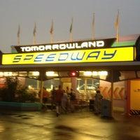 Photo taken at Tomorrowland® Speedway by Susan P. on 2/29/2012