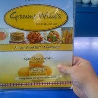 Photo taken at Gramma Willie's Restaurant by John M. on 7/6/2012