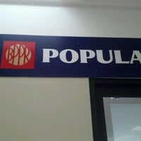 Photo taken at Banco Popular by Juan S. on 2/8/2012