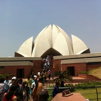 Photo taken at Lotus Temple (Bahá'í House of Worship) by Mario R. on 5/23/2012