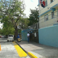 Photo taken at Colegio Evangélico Bautista by Nagaca G. on 2/14/2012
