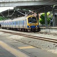Photo taken at KTM Line - Kajang Station (KB06) by mohdakmalhakim on 2/27/2012