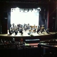 Photo taken at Teatro Municipal de Limeira by Jonas F. on 4/26/2012