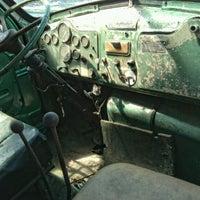 Photo taken at Tramell trucking yard by Michael J. W. on 8/24/2012