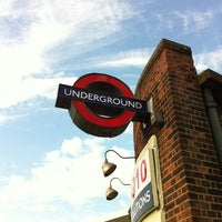 Photo taken at Hanger Lane London Underground Station by Victor S. on 8/12/2012