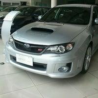 Photo taken at Subaru Greenhills | Motor Image Pilipinas Inc. by ariel on 6/1/2012
