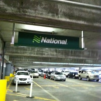 Photo taken at National & Alamo Return Lanes by Christine C. on 5/24/2012