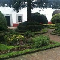 Photo taken at Ex Convento del Desierto de los Leones by MariFer G. on 8/5/2012