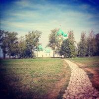 Photo taken at Храм преподобного Сергия Радонежского (Куликово поле) by Elena N. on 8/2/2012
