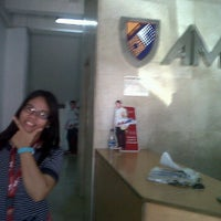 Photo taken at AMA Computer College - Caloocan City by Jackie C. on 4/18/2012