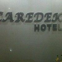 Photo taken at Hotel Caredek by Nivo R. on 5/19/2012