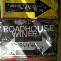 Photo taken at RoadHouse Winery by Ken W. on 3/2/2012