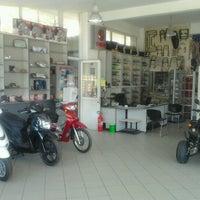 Photo taken at Auto-Moto Fotiadis by Alexandros ☆ F. on 9/10/2012