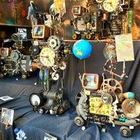 Photo taken at Columbus Ave Flea Market by Bob K. on 5/6/2012