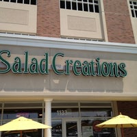Photo taken at Salad Creations by Sid J. on 8/2/2012