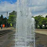 Photo taken at Capitol Mall Fountain by Gary on 8/21/2012
