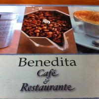Photo taken at Benedita Cafe by Michelle C. on 7/21/2012