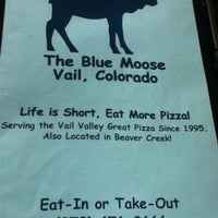 Photo taken at Blue Moose Pizza by Gastón d. on 3/14/2012