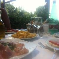 Photo taken at Da Gelsomina alla Migliara by Carlo B. on 8/18/2012