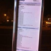 Photo taken at MTA Bus - B46/B46+SBS+ @ Utica Avenue/Malcolm X Blvd & Fulton Street by Andre B. on 4/14/2012