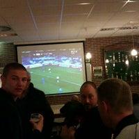 Photo taken at vv harkstede voetbalvereniging by Tijs d. on 4/5/2012