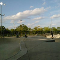 Photo taken at Lawton Skate Park by Aerielle O. on 9/4/2012