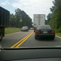 Photo taken at I-85, Exit 51 by Brenda O. on 5/31/2012
