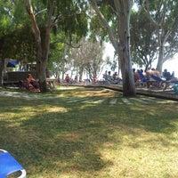 Photo taken at Rivera Beach Bar by Λεωνιδας Κ. on 8/3/2012