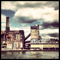 Photo taken at Domino Sugar Factory by Ron V. on 7/29/2012