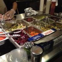 Photo taken at The Hummus & Pita Co by Christina T. on 2/16/2012