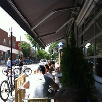 Photo taken at Restaurant Dans La Bouche by Simon V. on 6/25/2012